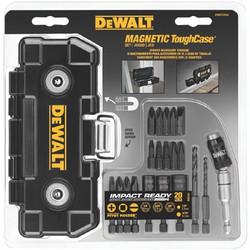 115-DWMTCIR20   DeWalt 20-Pc. Impact Ready Magnet ToughCase Sets