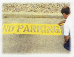 337-12430 | C.H. Hanson No Parking Stencil Kits
