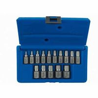 585-53228 | Irwin Hanson Hex Head Multi-Spline Screw Extractors - 532 Series - Plastic Case Sets