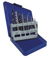 585-11119 | Irwin Hanson 10-pc Spiral Extractor and Drill Bit Combo Packs