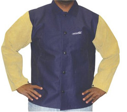 101-1201-2XL | Anchor Brand Leather/Sateen Combo Jackets