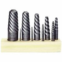 585-52490 | Irwin Hanson Spiral Flute Screw Extractors - 535/524 Series Sets