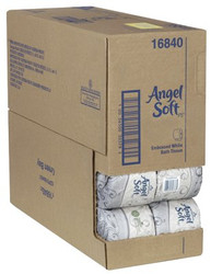 603-16840 | Georgia-Pacific Angel Soft ps 2-Ply Premium Embossed Bathroom Tissue