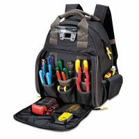 201-L255 | CLC Custom Leather Craft Tech Gear Lighted Backpack