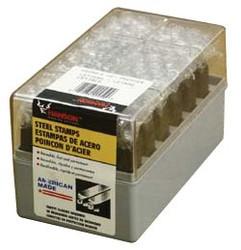 337-23021   C.H. Hanson Premier Steel Hand Stamp Sets