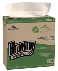 603-20077 | Georgia-Pacific Brawny Industrial Medium Duty Premium All Purpose EPA DRC Wipers