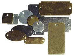 337-41292 | C.H. Hanson Metal Blank Plates