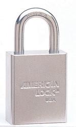 045-A7300KA | American Lock Steel Padlocks (Square Body w/Tubular Cylinder)