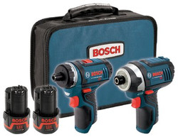 114-CLPK27-120 | Bosch Power Tools Litheon Cordless Combo Kits