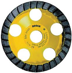 114-DC530   Bosch 5 in. Turbo Row Diamond Cup Wheel