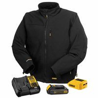115-DCHJ060C1-L | DeWalt 20V/12V MAX* Lithium-Ion Soft Shell Heated Jacket Kit