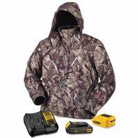 115-DCHJ062C1-M | DeWalt 20V/12V MAX* Lithium-Ion Soft Shell Heated Jacket Kit