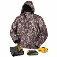 115-DCHJ062C1-S | DeWalt 20V/12V MAX* Lithium-Ion Soft Shell Heated Jacket Kit