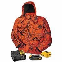 115-DCHJ063C1-L | DeWalt 20V/12V MAX* Lithium-Ion Soft Shell Heated Jacket Kit