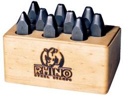 337-21760   C.H. Hanson Rhino Letter Stamp Sets