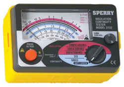 623-3132MOV | Sperry Instruments Analog Insulation Testers