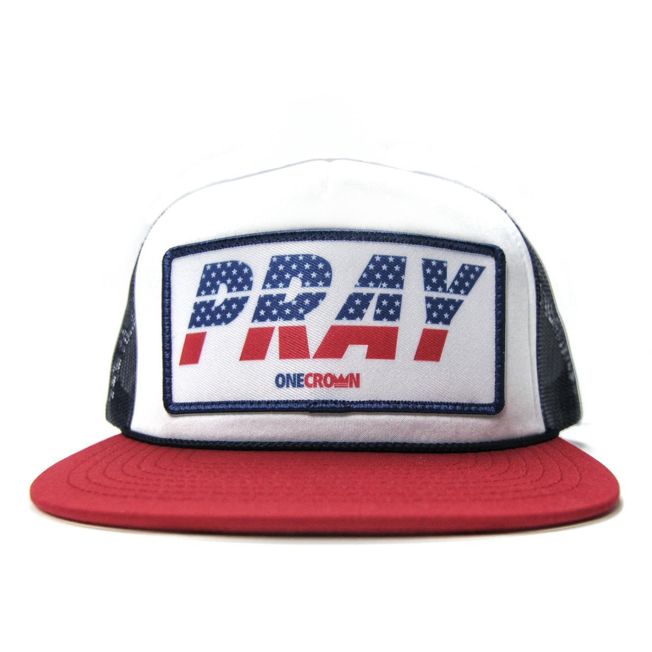 PRAY USA - Snapback Trucker Hat