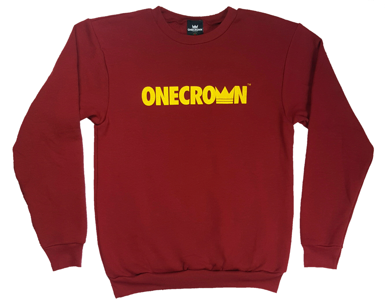 Onecrown Chinese Pray Crew Neck - Cranberry