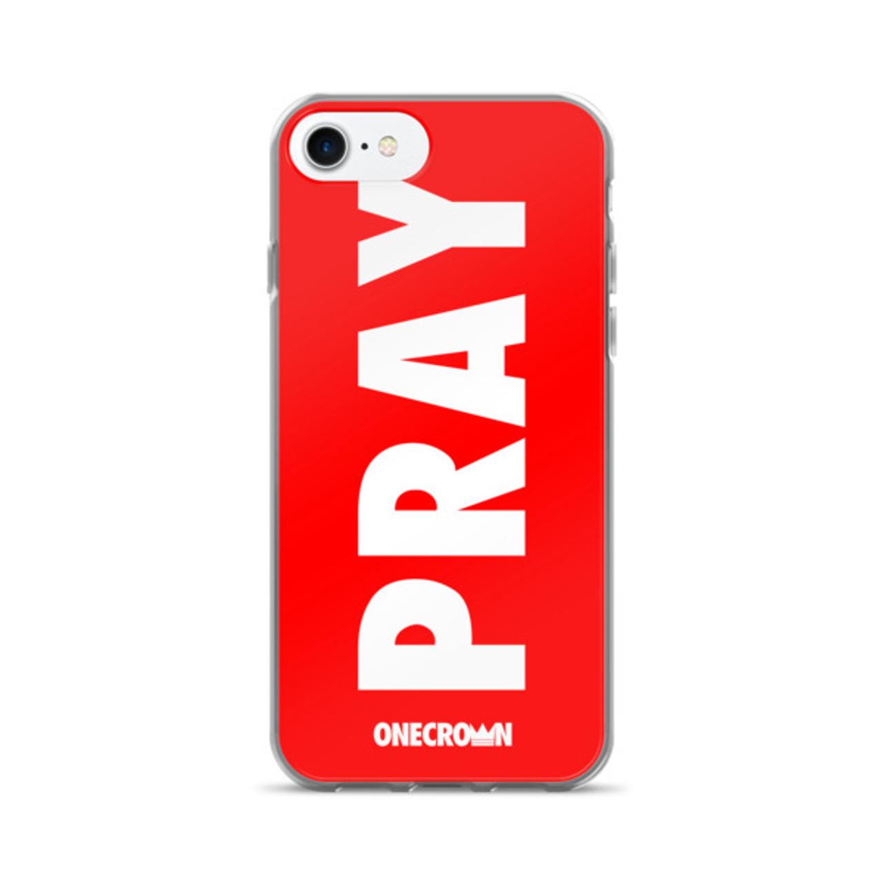 PRAY iPhone 7/7 Plus Case - Red
