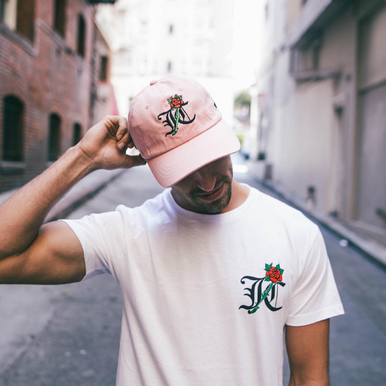 JC - Dad Hat - Pink