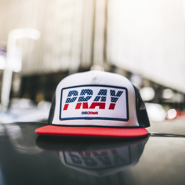 PRAY USA - Snapback Trucker Hat