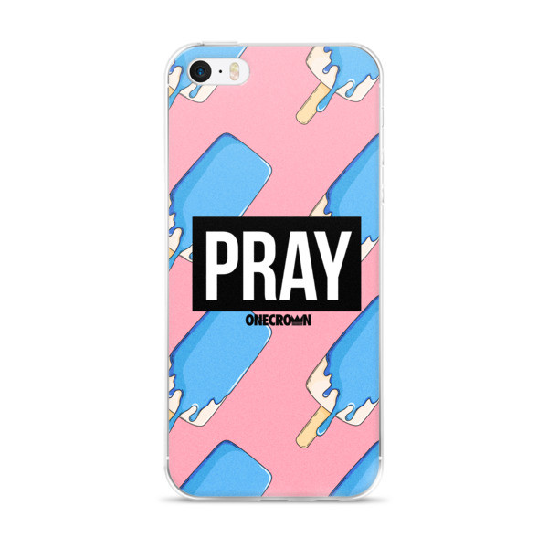 Ice Cream PRAY - iPhone Case