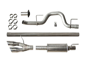 2011-2014 F-150 ROUSH Cat-Back Exhaust for 6.2L/5.0L/3.5L-(Side Exit)