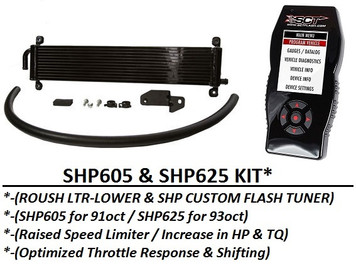 2011-2014 F-150 SHP605/SHP625F* Performance Upgrade for ROUSH TVS SC (5.0L/6.2L)