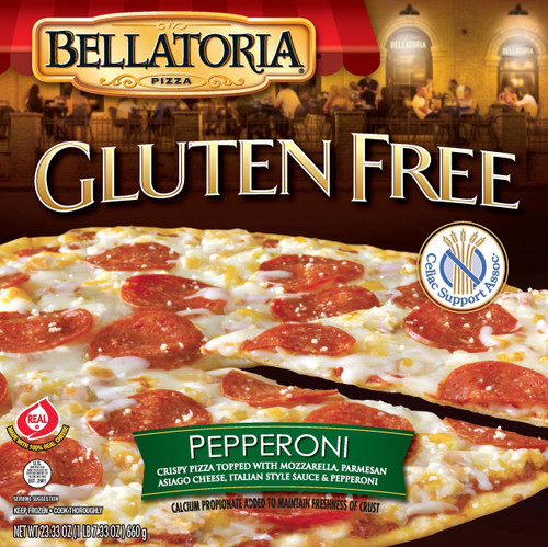 Bellatoria Gluten Free Pepperoni Pizza