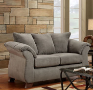 SENSATION GREY LOVESEAT