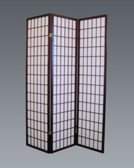 Cherry Finish Room Divider