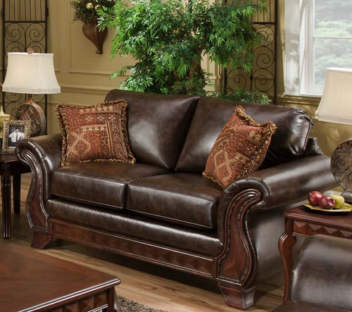 NEW ERA WALNUT LOVESEAT