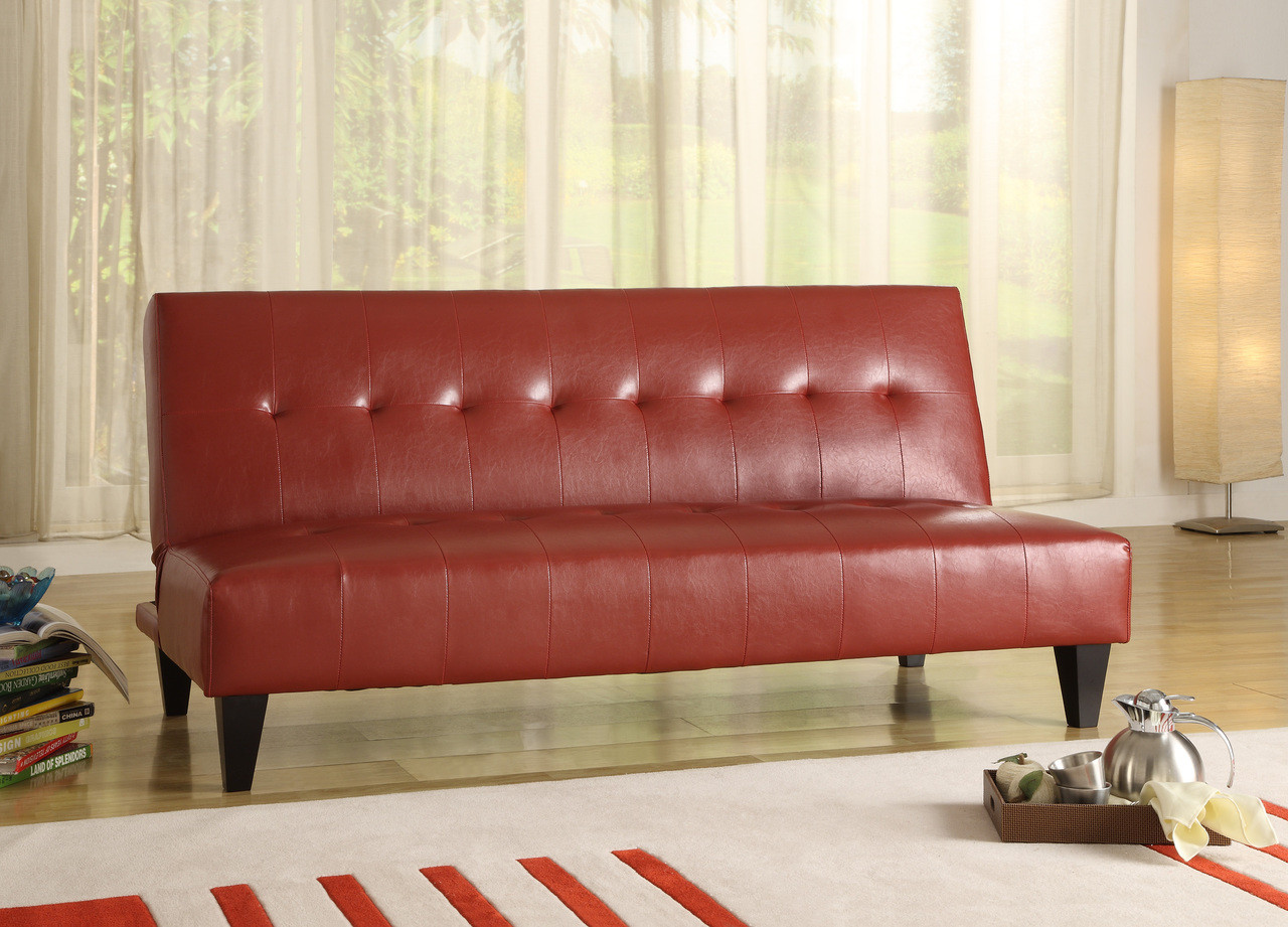 Marco Red Adjustable Sofa Clearinghouse Furniture