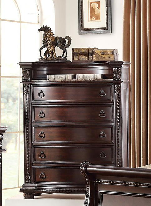 STANLEY MARBLE TOP CHEST