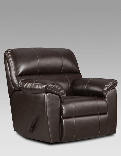 AUSTIN CHOCOLATE RECLINER