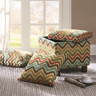 SHELLEY MULTI STORAGE OTTOMAN