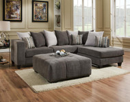 HEAVENLY MOCHA 2-PC SECTIONAL