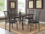 SANFORD 5PC DINING SET