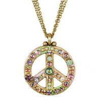 MICHAL GOLAN PEACE SIGN PENDANT N2312-a