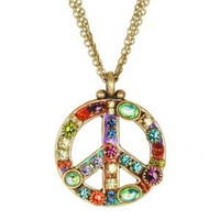 MICHAL GOLAN PEACE SIGN PENDANT