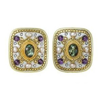 MICHAL GOLAN VINTAGE VIOLET EARRINGS S3868