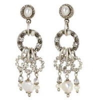 MICHAL GOLAN BRIDAL CRYSTAL EARRINGS S6190