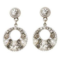MICHAL GOLAN BRIDAL CRYSTAL EARRINGS