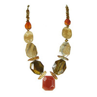 Michal Golan Red Rock Necklace N2148