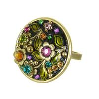 Michal Golan Midnight Blossom Ring