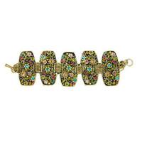 Michal Golan Midnight Blossom Bracelet SB252