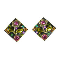Michal Golan Midnight Blossom Earrings S5837