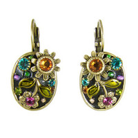 Michal Golan Midnight Blossom Earrings S5575