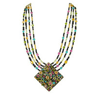 Michal Golan Midnight Blossom Necklace N2101