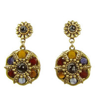 Michal Golan Earthly Flower Earrings S7157